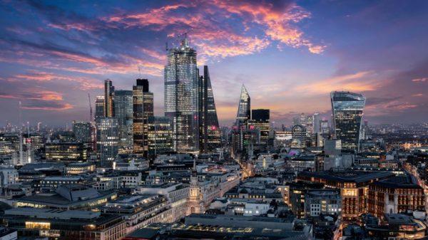 City of London skyline (istock.com/SHansche)