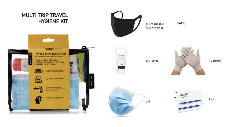 Win one of 20 GATE8 Travel Hygiene Kits – Business Traveller