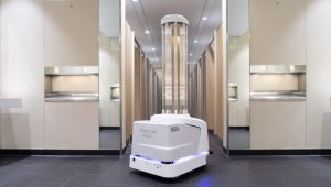Heathrow Airport deploys cleaning robots to kill viruses