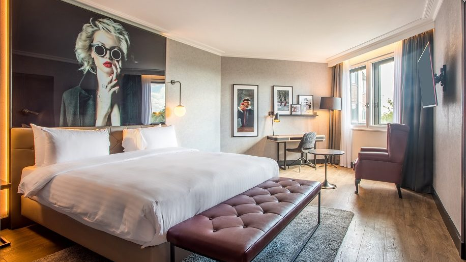 A suite at the Radisson Red London Heathrow