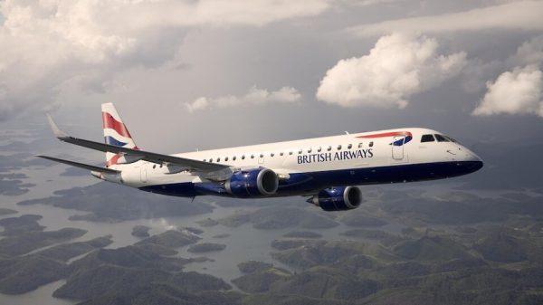 BA Embraer aircraft