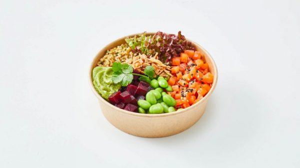 Avocado bowl, part of the new Lufthansa buy-on-board range