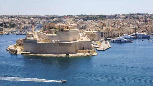 Fort Saint Angelo in Birgu, Malta (istock.com/laranik)