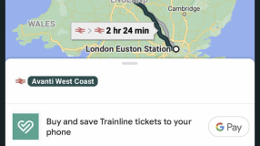 Trainline's booking platform has been integrated into Google Maps