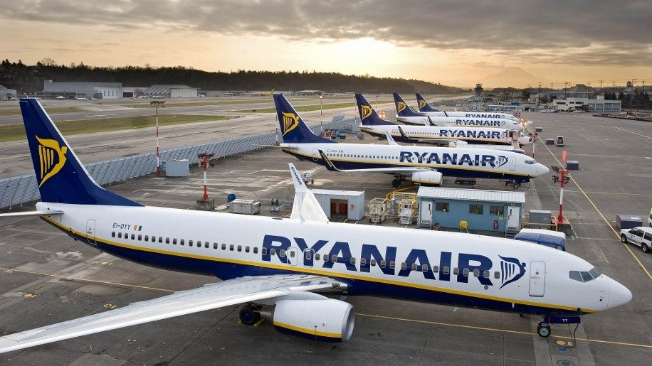 Ryanair sees profits fall despite rise in ancillary revenue