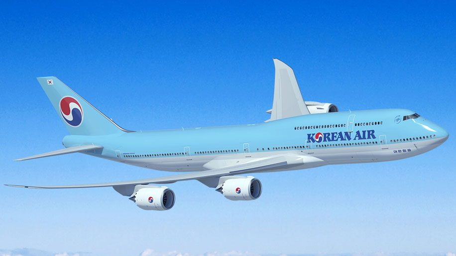 Korean Air to boost flights on some routes, while cut others for its 2019 winter schedule