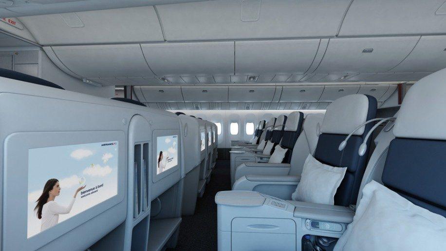 Air France B777 200er Business Class