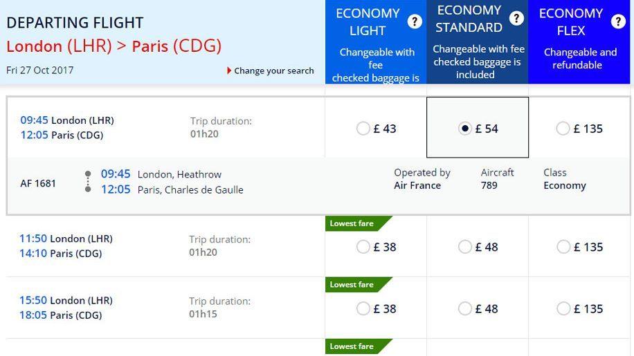 Air France to offer B787 London-Paris flights until October 2017 – Business  Traveller