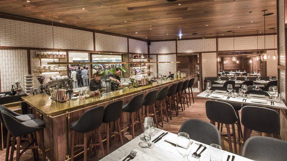Bar At Bizou In Hong Kong
