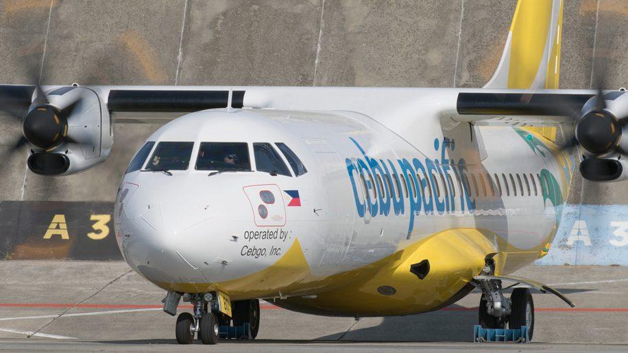 Flight check: Cebgo ATR 72-600 Economy class Manila-Caticlan ...