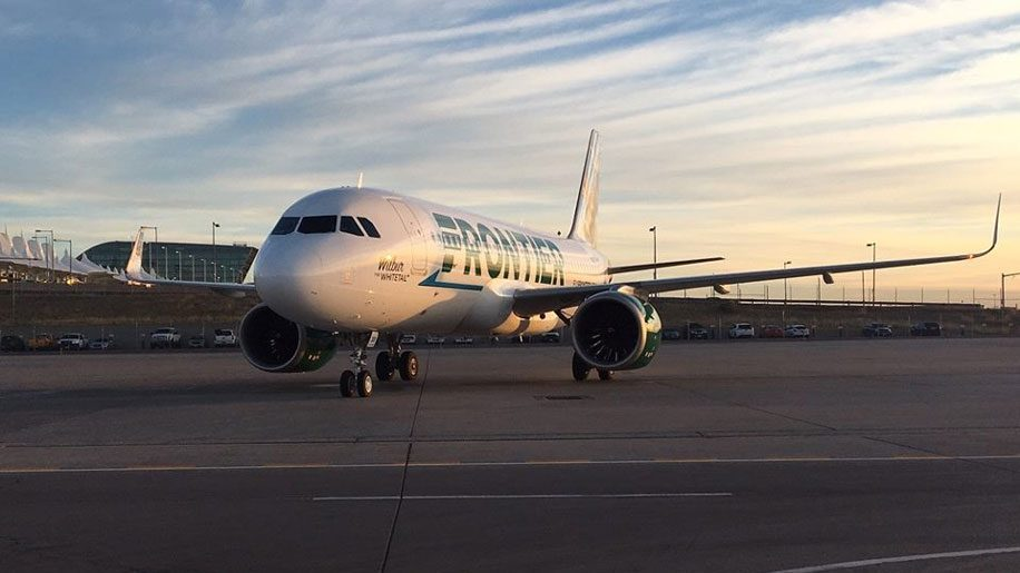 Frontier launches first flights from Boston
