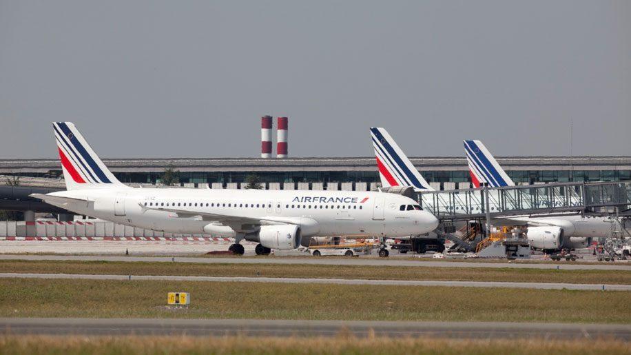 Air France A320 at Paris CDG