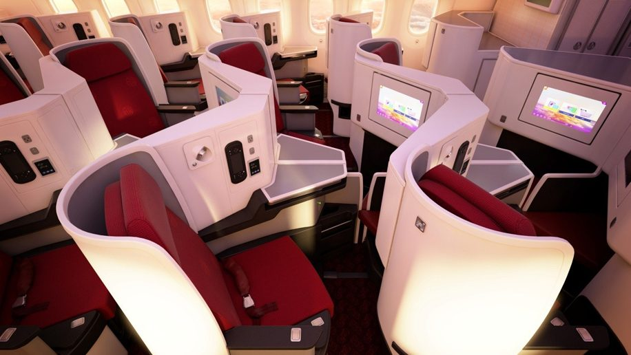 New business class at Hainan Airlines