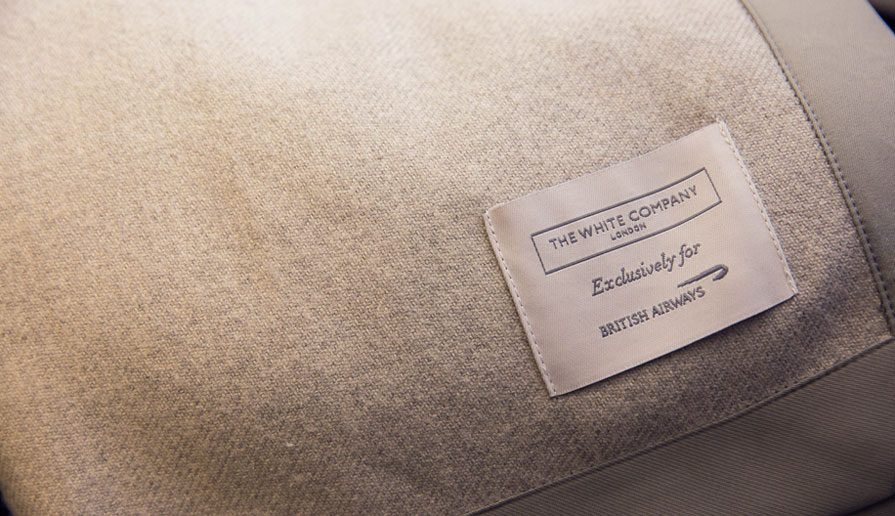 BA The White Company Light Weight Blanket  Exclusive For British Airways