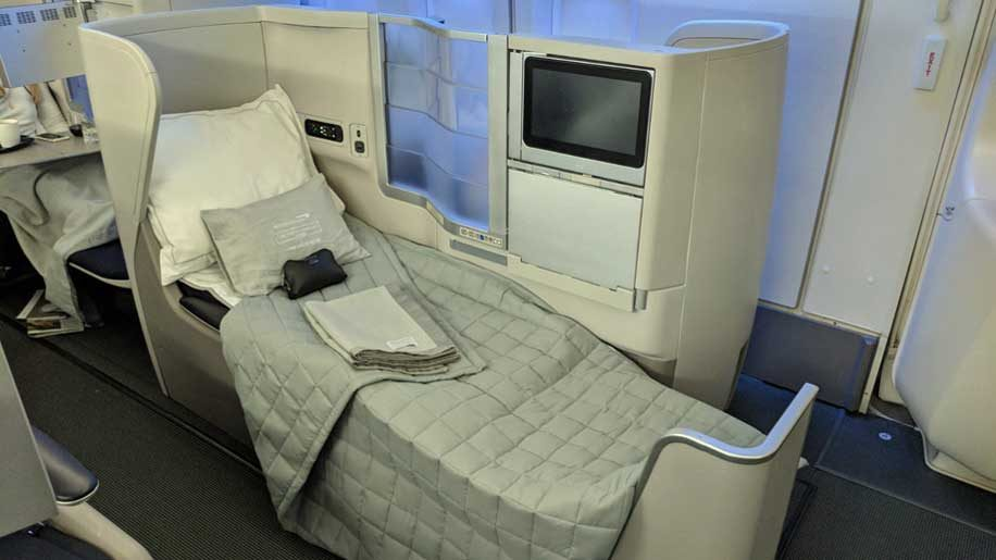 air india london to new york review