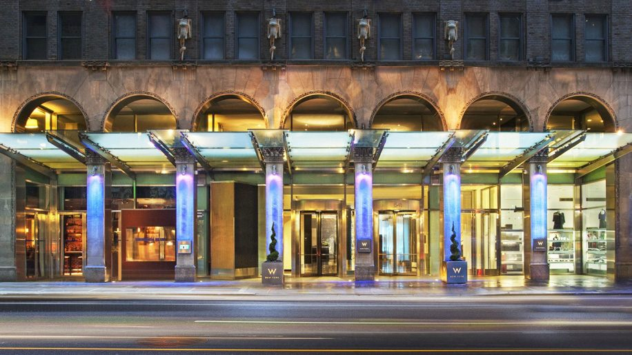 W New York Marriott Rewards And Starwood Preferred Guest Spg The Loyalty Programmes Of Hotels Resorts