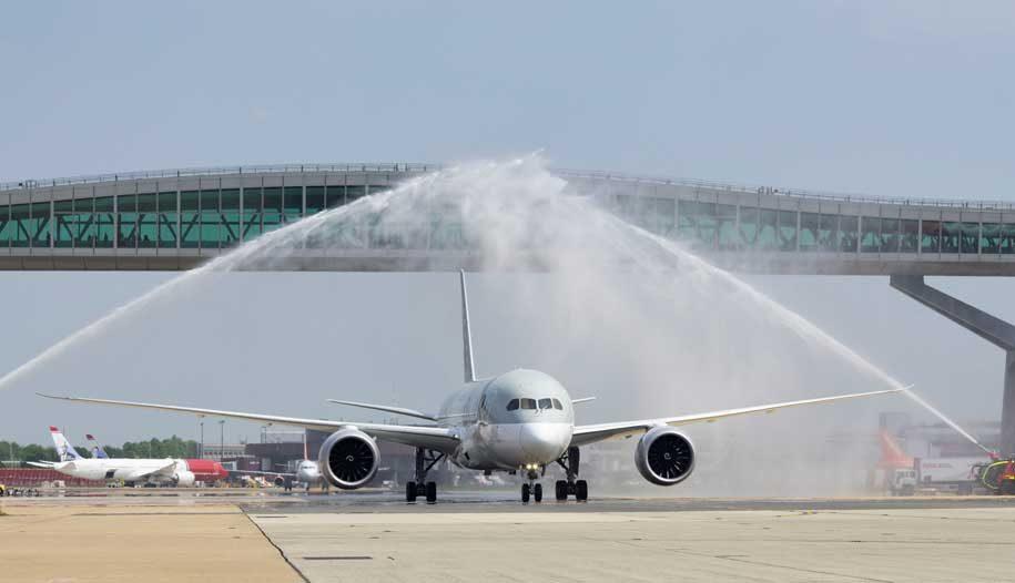 Flight review: Qatar Airways Boeing 787-8 business class ...