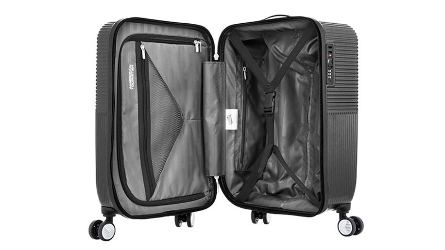 b8f32ebb1 Luggage review: American Tourister Air Ride Spinner 55/20 TSA ...