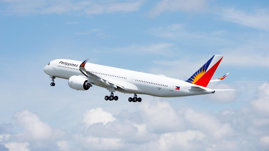 Philippine Airlines New Airbus A350 Takes First Flight