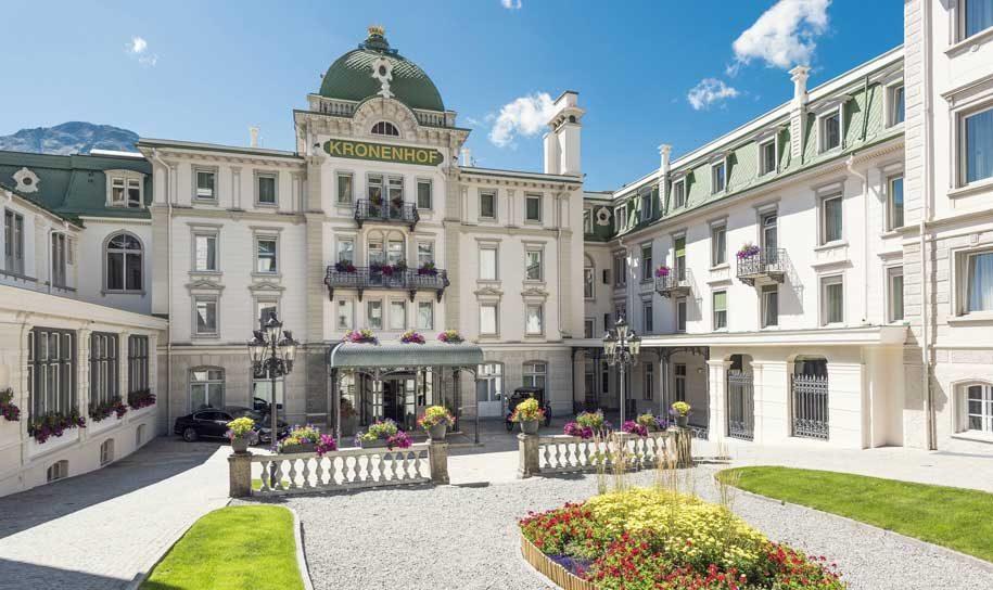 Hotel review: Grand Hotel Kronenhof, Pontresina – Business Traveller