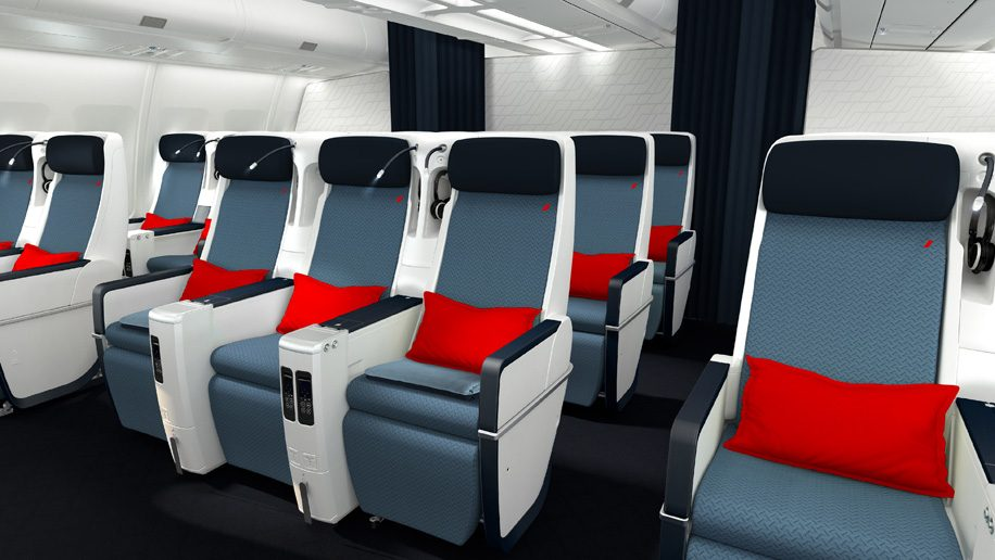 Air France Unveils New A330 Premium Economy And Economy Cabins
