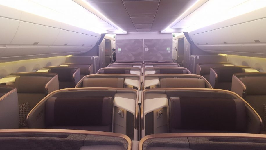 Flight review: Singapore Airlines Airbus A350-900ULR ...
