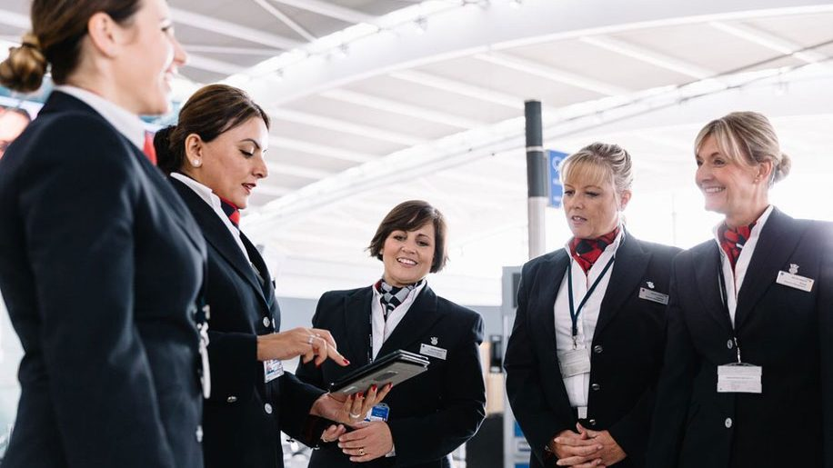 British Airways staff at Heathrow to walk terminal floors