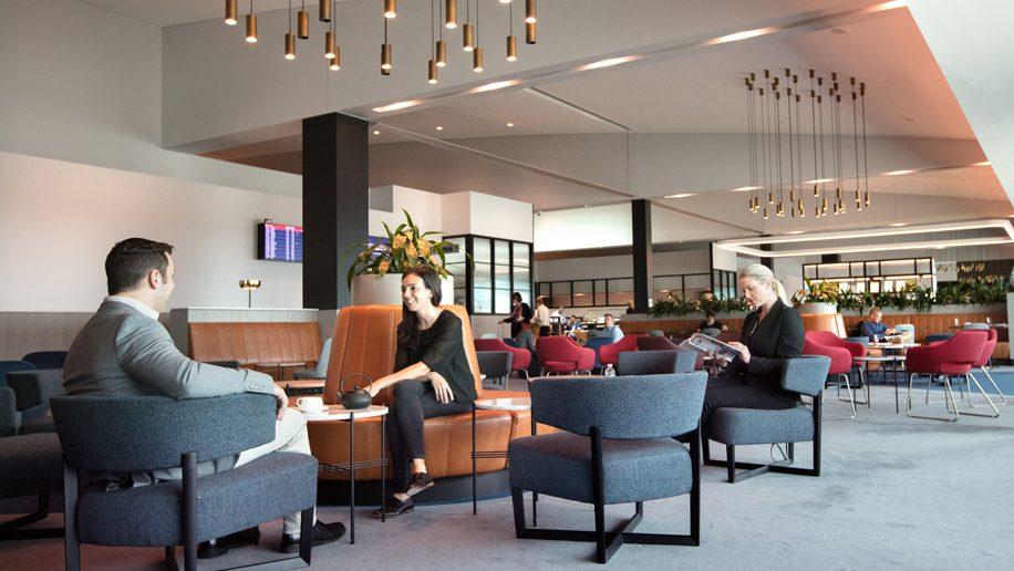 Qantas revamps Melbourne Domestic Business Lounge and Qantas Club –  Business Traveller