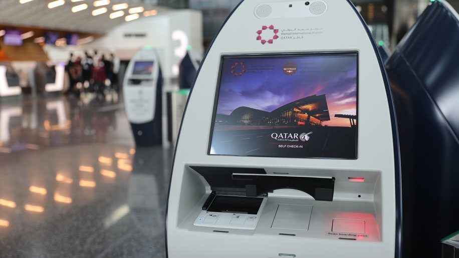 Hamad International unveils self-service check-in and bag drop facilities