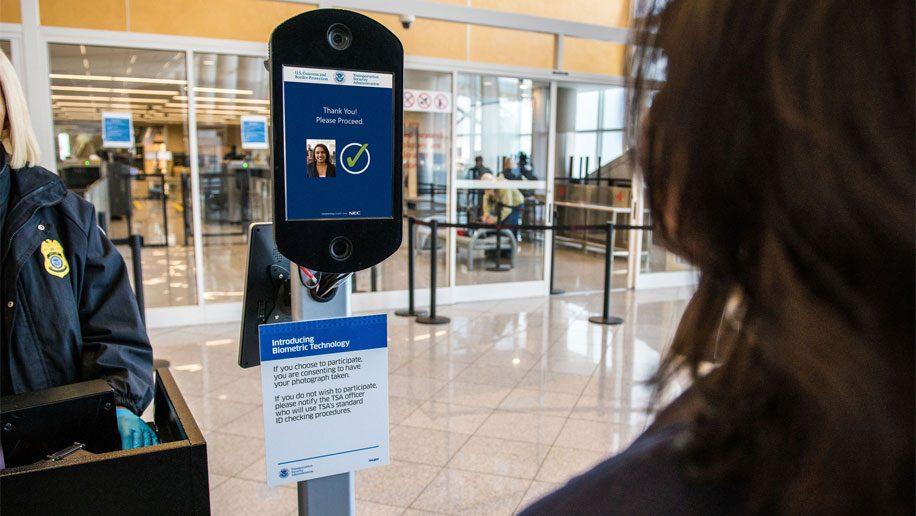 Delta biometrics at TSA gates