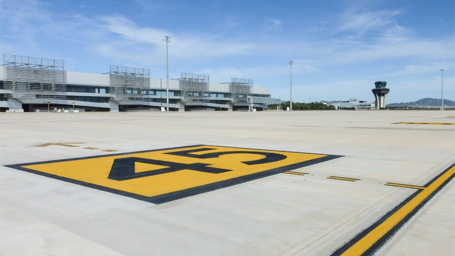 First flights touch down at Murcia International Airport