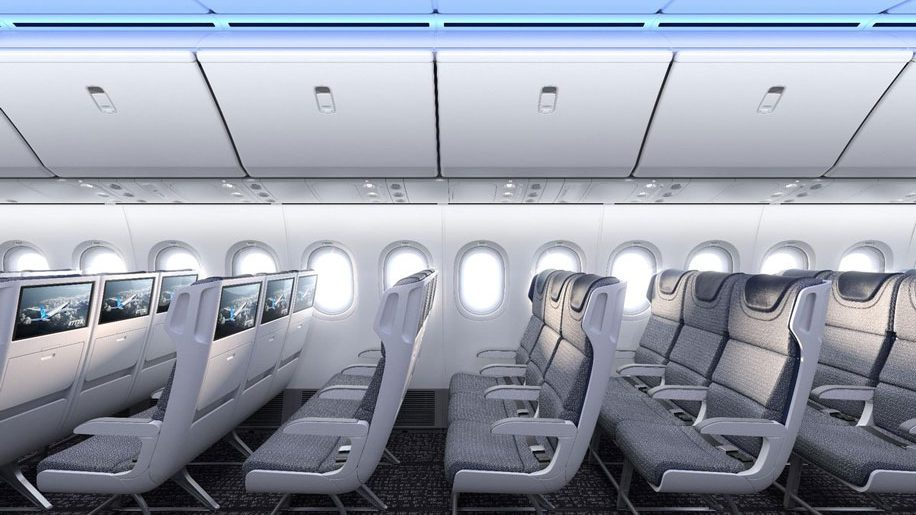 Boeing offers glimpse of B777-X interiors