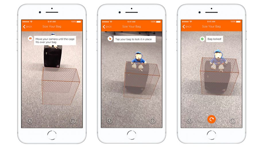 Ar Bag Scanning Feature To Iphone