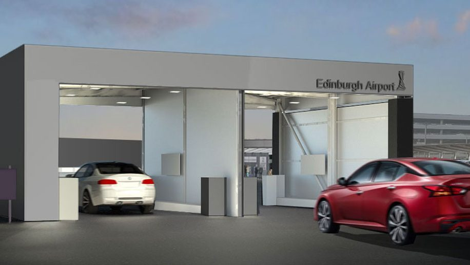 """Edinburgh airport to launch """"drop and go"""" parking service"""