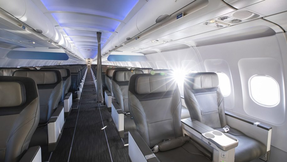 Alaska Airlines Unveils New First Class Seats For