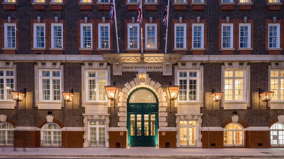 Construction completes on Hyatt's Great Scotland Yard Hotel