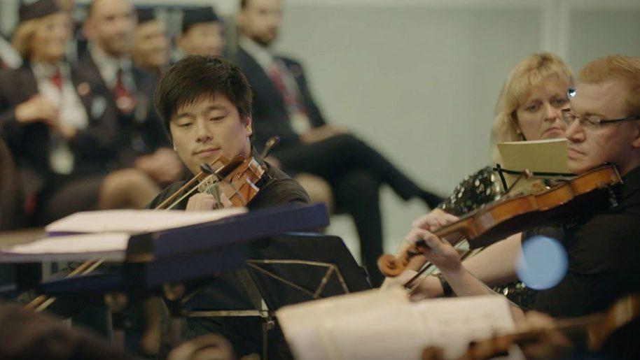 British Airways unveils reimagined Flower Duet theme