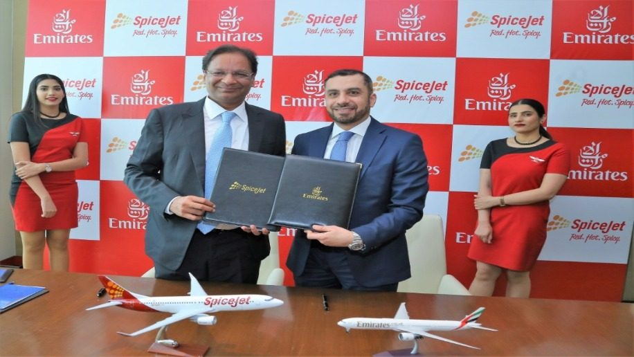 SpiceJet signs codeshare agreement with Emirates – Business