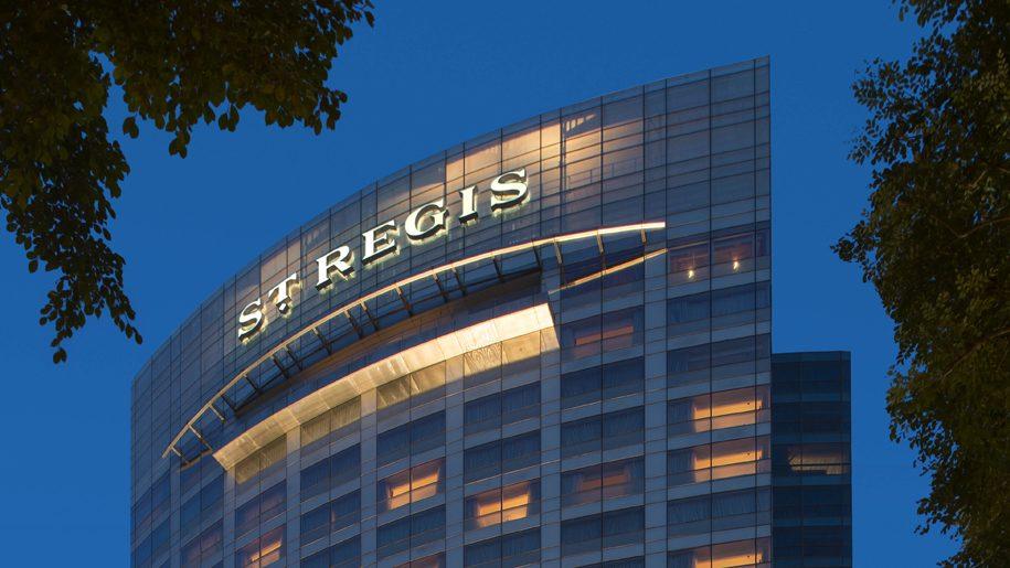 Kết quả hình ảnh cho st.regis hotel singapore