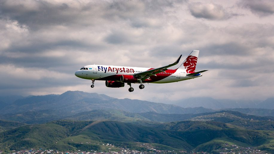 New Kazakh low-cost carrier Fly Arystan takes off