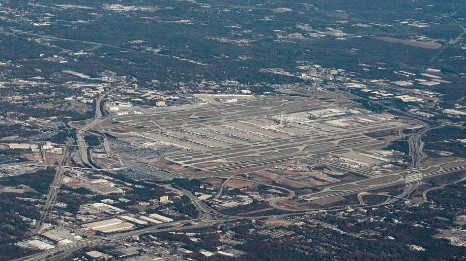Parking sacrificed for expansion at Atlanta Airport