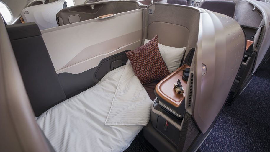 Flight review: Singapore Airlines A380-800 business class – Business