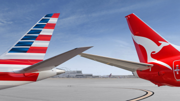 Qantas unveils new livery on its latest Boeing 787-9