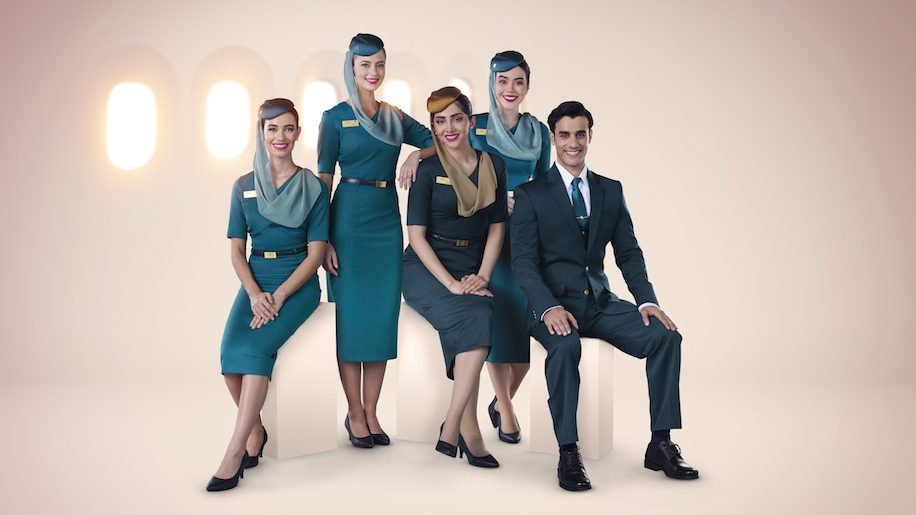 Oman Air unveils new cabin crew uniforms