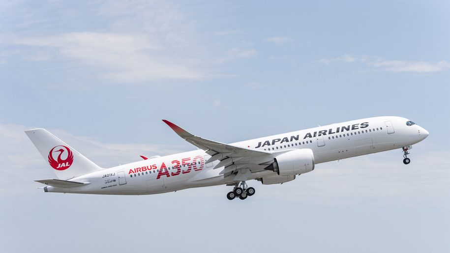 Japan Airlines takes delivery of its first A350