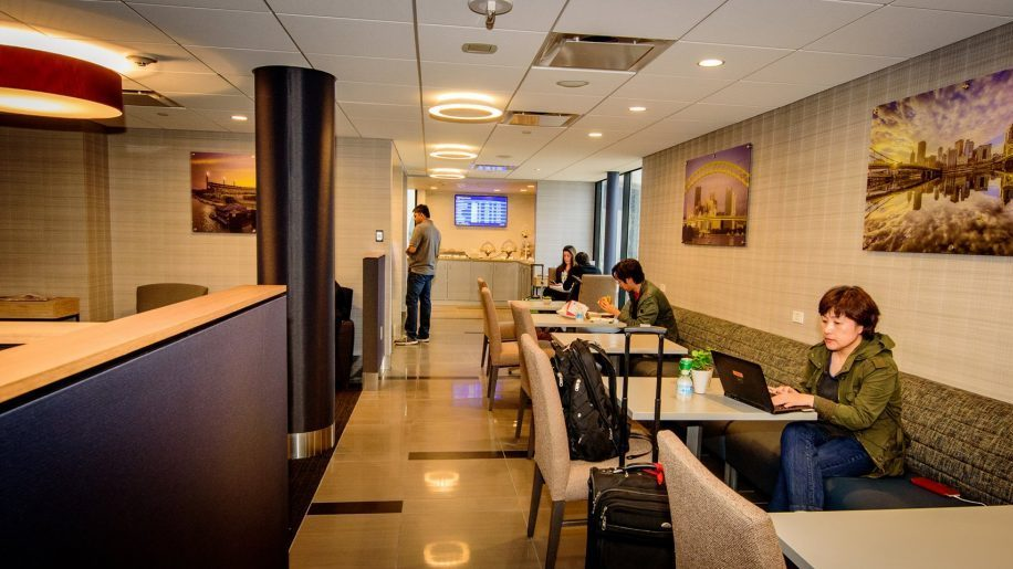 Expanded club lounge opens at Pittsburgh International Airport