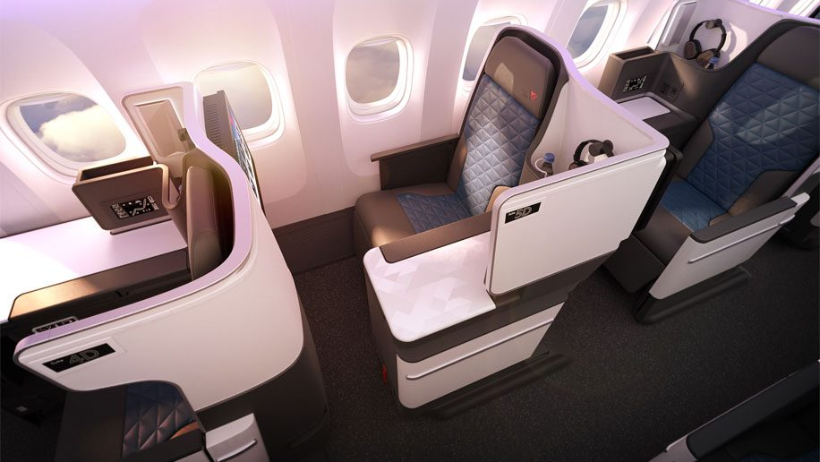 Delta to add premium economy and new business class seat to