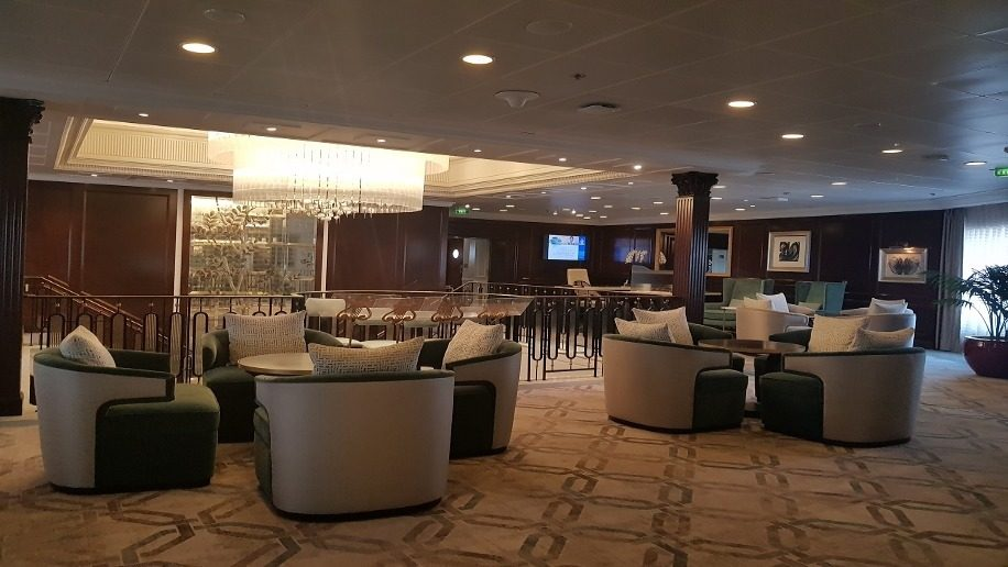Onboard Insignia, Oceania Cruises' newly refurbished ship