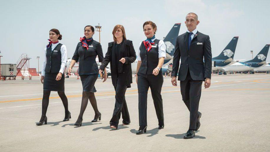 Aeromexico unveils new uniforms