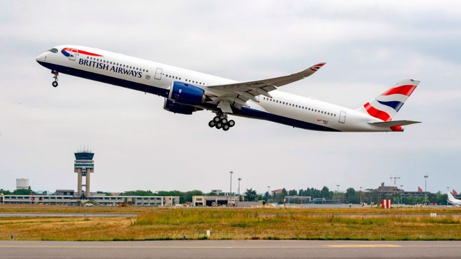 Top British Airways routes
